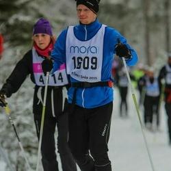 Skiing 90 km - Fredrik Edin (1609)