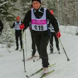 Skiing 90 km - Jennie Magnusson (619)