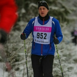 Skiing 90 km - Gustaf Svensson (952)