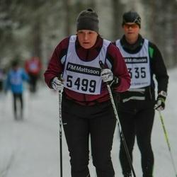 Skiing 90 km - Linda Hillergren (5499)