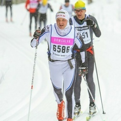 Skiing 90 km - Einar Knudsen (6586)