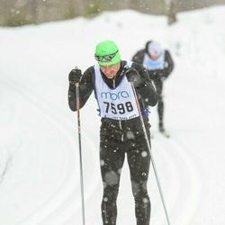 Skiing 90 km - Henrik Holmström (7598)