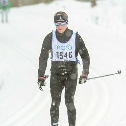 Skiing 90 km - David Backa (1546)