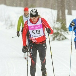 Skiing 90 km - Anders Magnusson (519)