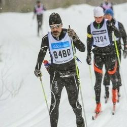 Skiing 90 km - Dennis Eriksson (8480)