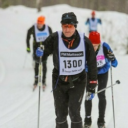 Skiing 90 km - Fredrik Palm (1300)