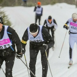 Skiing 90 km - Fredrik Carlstedt (5980)