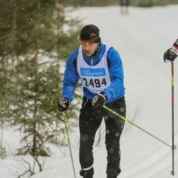 Skiing 90 km - David Eriksson (2494)