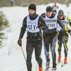 Skiing 90 km - Fredrik Hellqvist (1199), Martin Persson (5711)