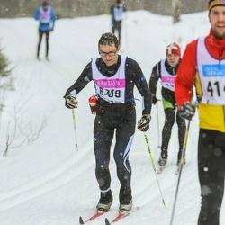 Skiing 90 km - Hilding Nilsson (6709)
