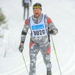 Skiing 90 km - Martin Strandberg (8026)
