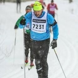 Skiing 90 km - Sune Elmose (7231)