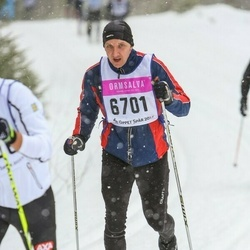 Skiing 90 km - Henrik Sjövall (6701)