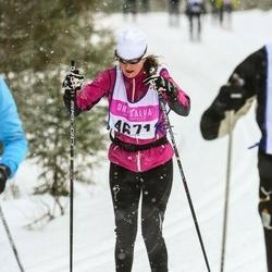 Skiing 90 km - Anne Gustafsson (4671)