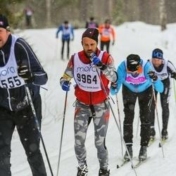 Skiing 90 km - Adam Karlsson (9964)