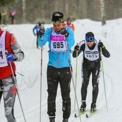Skiing 90 km - Christofer Johansson (695)