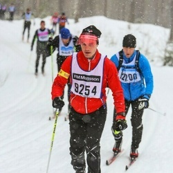 Skiing 90 km - Anders Persson (9254)