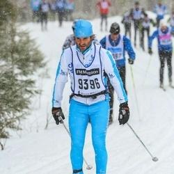 Skiing 90 km - Jean Pierre Sesboue (9396)