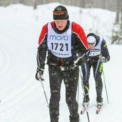 Skiing 90 km - Kent Andersson (1721)