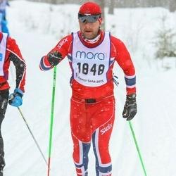 Skiing 90 km - Sigurd Syrdal (1848)