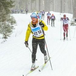Skiing 90 km - Christian Gustafsson (6216)