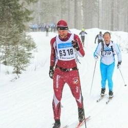 Skiing 90 km - Ulf Hördegård (6318)