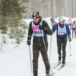 Skiing 90 km - Erik Nyberg (8644)
