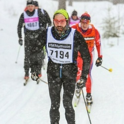 Skiing 90 km - Mikael Nilsson (7194)