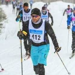 Skiing 90 km - Mats Linder (412)