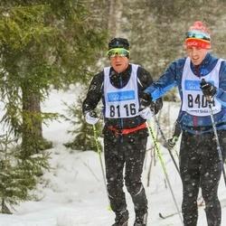 Skiing 90 km - Markku Ohranen (8116)
