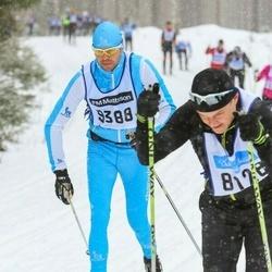 Skiing 90 km - Simon Wang Langer (9388)