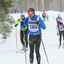 Skiing 90 km - Henrik Ekenman (1360)