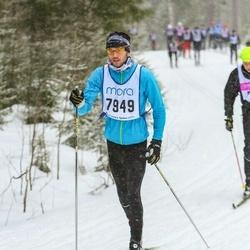Skiing 90 km - Simon Murray (7949)