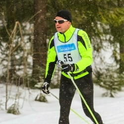 Skiing 90 km - Peter Andersson (55)