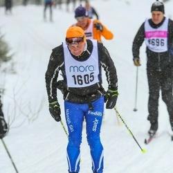 Skiing 90 km - Olle Ekman (1605)