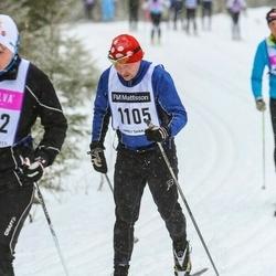 Skiing 90 km - Ronny Björn (1105)