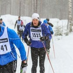 Skiing 90 km - Adrian Östlund (1323)