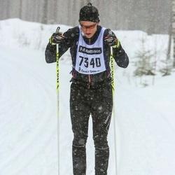 Skiing 90 km - Emil Mårtensson (7340)
