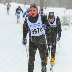 Skiing 90 km - Carl Johan Måwe (9970)