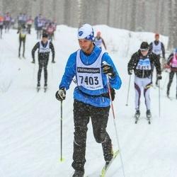 Skiing 90 km - Axel Wihlborg (7403)