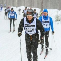 Skiing 90 km - Henrik Boberg (9059)