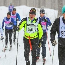 Skiing 90 km - Erik Lenne (3303)