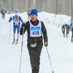 Skiing 90 km - Fredrik Hansson (418)