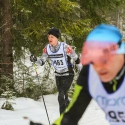Skiing 90 km - Fredrik Rosenholm (9486)