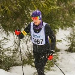 Skiing 90 km - Barbro Hugo (1687)