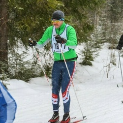 Skiing 90 km - Henrik Jonsson (1877)