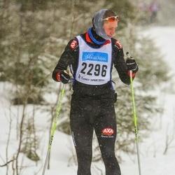 Skiing 90 km - Fredrik Salomonsson (2296)