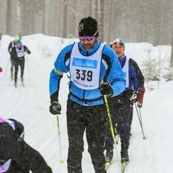 Skiing 90 km - Anders Larsson (339)
