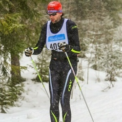 Skiing 90 km - Johan Moreau (4097)
