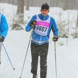Skiing 90 km - Håkan Thorwid (6607)